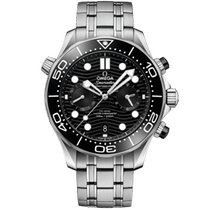 Omega Seamaster Diver 300 M Steel 44mm Black No numerals United States of America, Iowa, Des Moines