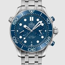 Omega Seamaster Diver 300 M Steel 44mm Blue No numerals United States of America, Iowa, Des Moines