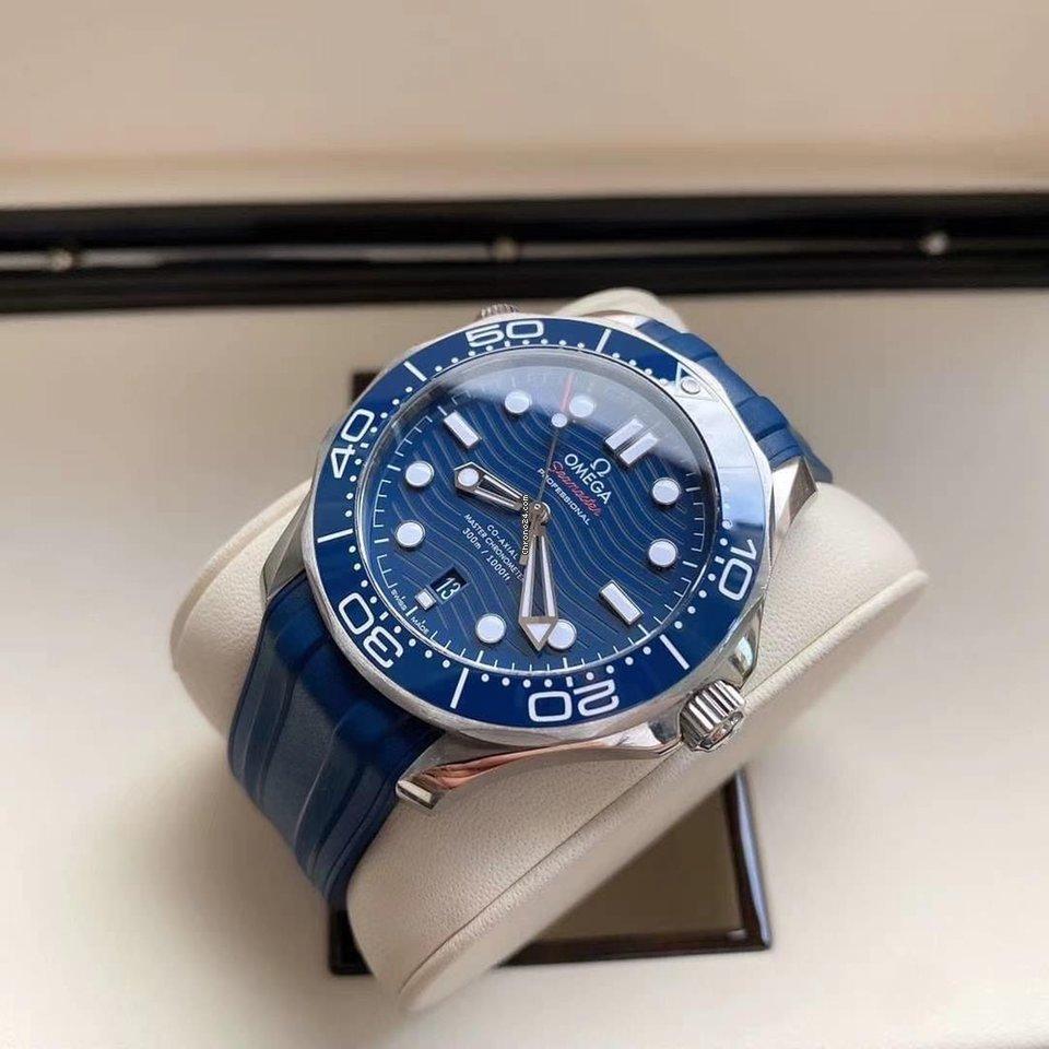 Omega Seamaster Diver 300 M 210.32.42.20.03.001 2021 new