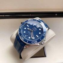 Omega Seamaster Diver 300 M Steel 42mm Blue No numerals United States of America, Iowa, Des Moines