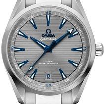 Omega Seamaster Aqua Terra Acier 41mm Gris Sans chiffres
