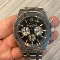 Audemars Piguet Royal Oak Chronograph Steel 42mm Black No numerals United States of America, New York, Syracuse.