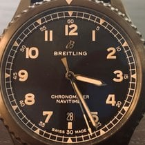 Breitling Navitimer 8 usados 41mm Negro Fecha Piel