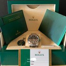 Rolex Oyster Perpetual 39 Acciaio 39mm Nero Senza numeri Italia, cermenate
