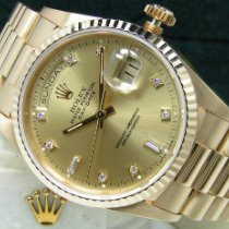 Rolex Day-Date 36 new 1990 Automatic Watch with original box and original papers 18238 118238
