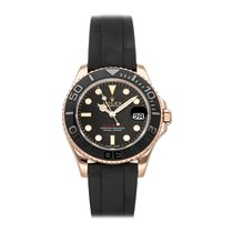 Rolex Yacht-Master 37 Rose gold 37mm Black No numerals United States of America, Pennsylvania