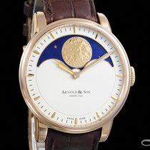 Arnold & Son HM Perpetual Moon Rose gold 42mm