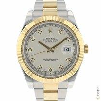 Rolex Datejust II Acier 41mm Champagne