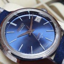 Seiko King Acier Bleu Sans chiffres