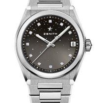 Zenith 03.9200.670/02.MI001 Steel 2021 Defy 36mm new