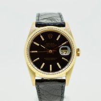Rolex Datejust 16238 Хорошее Желтое золото 36mm Автоподзавод