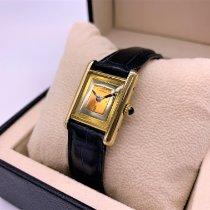 Cartier Tank Vermeil Silber 20mm Gold Keine Ziffern Deutschland, Buchbach
