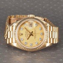 Rolex Lady-Datejust 69178 Mycket bra Gulguld 26mm Automatisk