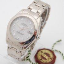 Rolex Lady-Datejust Pearlmaster Weißgold 34mm Perlmutt Keine Ziffern Deutschland, Pforzheim