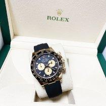 Rolex Or jaune Remontage automatique Noir Arabes 40mm nouveau Daytona