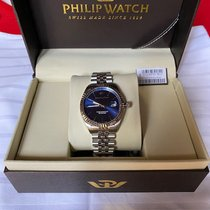 Philip Watch Caribe Acero 41mm Azul