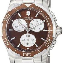 Victorinox Swiss Army Alliance Steel 41mm Brown Arabic numerals United States of America, New York, Monsey