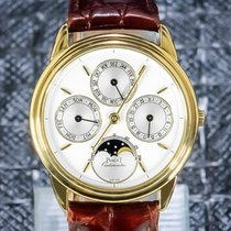 Piaget Gouverneur Yellow gold 33.5mm White No numerals