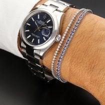 Rolex Datejust II occasion 36mm Bleu Date Acier