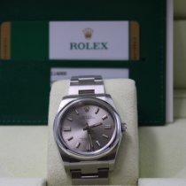 Rolex Oyster Perpetual 36 Ocel 36mm Stříbrná Bez čísel