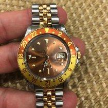 Rolex GMT-Master Gold/Steel 40mm Brown No numerals Singapore, Singapore