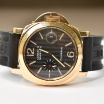 Panerai Luminor Marina Automatic Yellow gold 44mm Black Arabic numerals