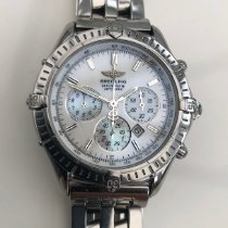 Breitling Shadow Flyback Steel 38mm Mother of pearl No numerals