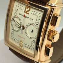 Girard Perregaux Or blanc Remontage automatique Jaune Arabes 30mm nouveau Vintage 1945