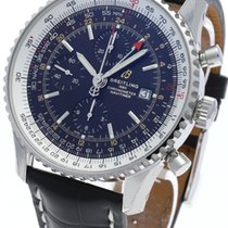 Breitling Navitimer GMT Steel 46mm Black