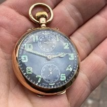 Zenith ww1 9ct gold zenith pocket alarm watch Good Yellow gold 47mm Manual winding United Kingdom, East sussex