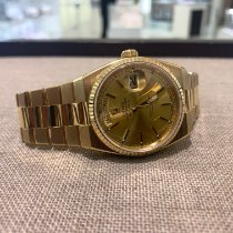Rolex Day-Date Oysterquartz Yellow gold 36mm Silver No numerals United Kingdom, Gateshead