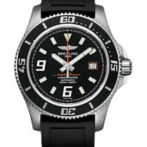Breitling Superocean 44 Steel 44mm Black Arabic numerals United States of America, New York, New York