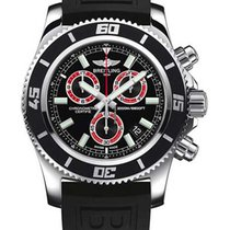 Breitling Superocean Chronograph M2000 Steel 46mm Black No numerals United States of America, New York, New York