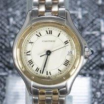 Cartier Cougar Gold/Steel 33mm White Roman numerals