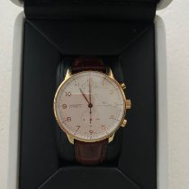 IWC Portuguese Chronograph Oro rosa 41mm Blanco Arábigos