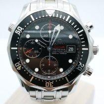 Omega Seamaster Diver 300 M Acier Noir Sans chiffres