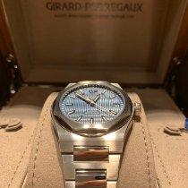 Girard Perregaux Acier Remontage automatique Bleu Sans chiffres 42mm nouveau Laureato