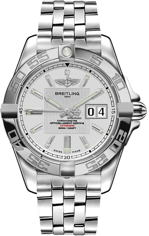 Breitling Galactic 41 A49350L2.G699 new