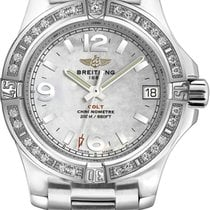 Breitling Colt 36 Steel 36mm Mother of pearl Arabic numerals United States of America, New York, New York