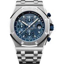 Audemars Piguet Royal Oak Offshore Chronograph Steel 42mm Blue No numerals United States of America, Iowa, Des Moines