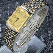 Jaeger-LeCoultre Reverso (submodel) usados 33mm Champán Acero y oro
