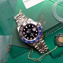 Rolex GMT-Master II Steel 40mm Black No numerals United States of America, Virginia, Sterling