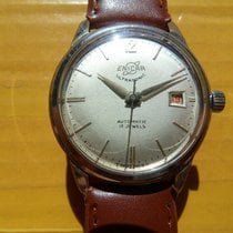 Enicar pre-owned Automatic 36mm White Plexiglass