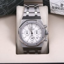 Audemars Piguet Royal Oak Chronograph Steel 39mm Silver No numerals United States of America, California, Beverly Hills