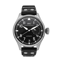 IWC Big Pilot Stål 46.2mm Svart Arabiska
