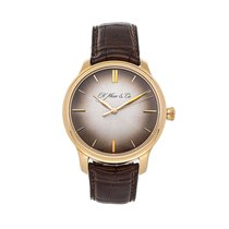 H.Moser & Cie. Endeavour Rose gold 40.8mm Grey No numerals United States of America, Pennsylvania, Bala Cynwyd