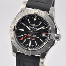 Breitling Avenger II GMT Steel 43mm Black United States of America, Ohio, Mason