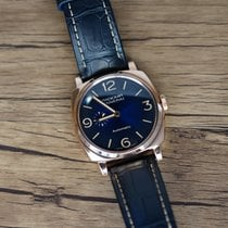 Panerai Radiomir 1940 pre-owned 45mm Blue Crocodile skin
