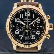 Breguet Type XX - XXI - XXII Rose gold 42mm Black United States of America, Massachusetts, Boston
