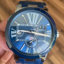 Ulysse Nardin Executive Dual Time Сталь 43mm Синий Римские Россия, Krasnodar